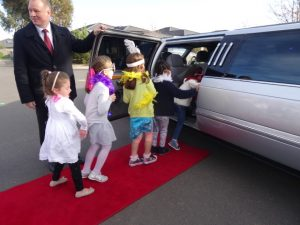Limo party giggles 4 girls